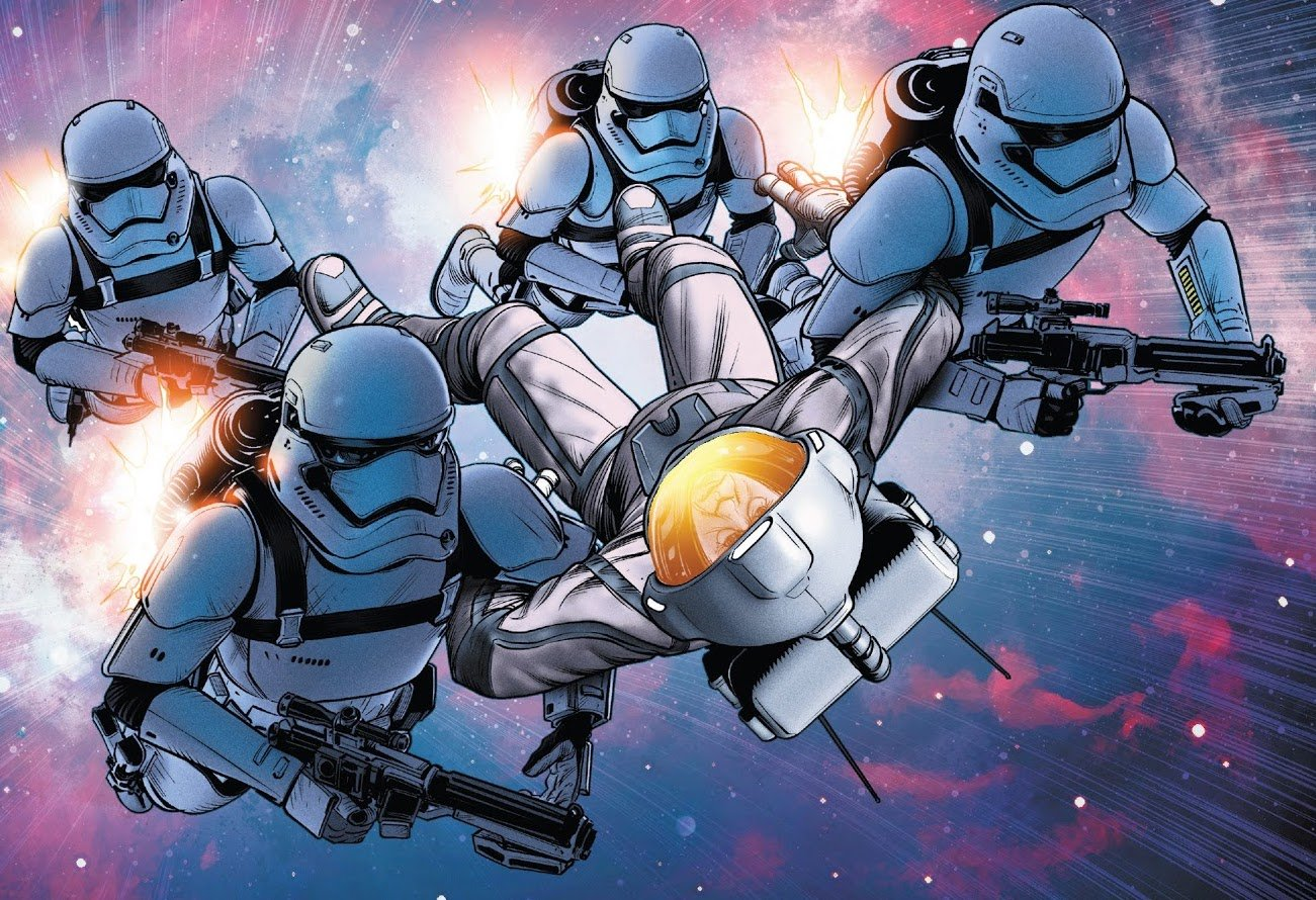 Another Look at the Rocket Troopers from Star Wars: The Rise