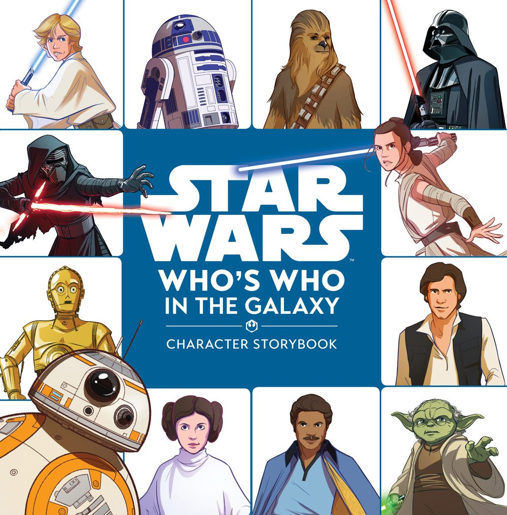 Review – Get Reintroduced To Your Favorite Moments and Characters with Star Wars: Who's Who in the Galaxy