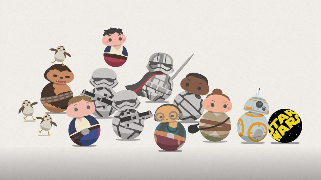 'Star Wars: Roll Out' Animated Shorts Turn Everyone into BB Droids