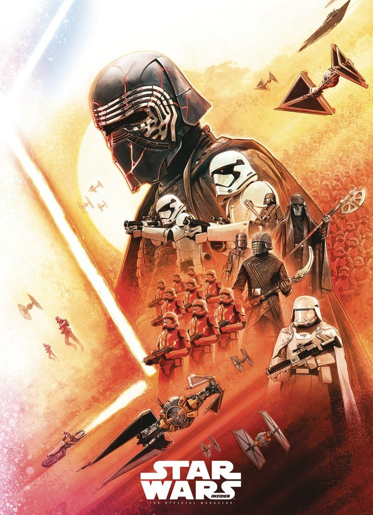 Updated With The Other Half Of The Image New The Rise Of Skywalker Art From The Cover Of Star Wars Insider Star Wars News Net