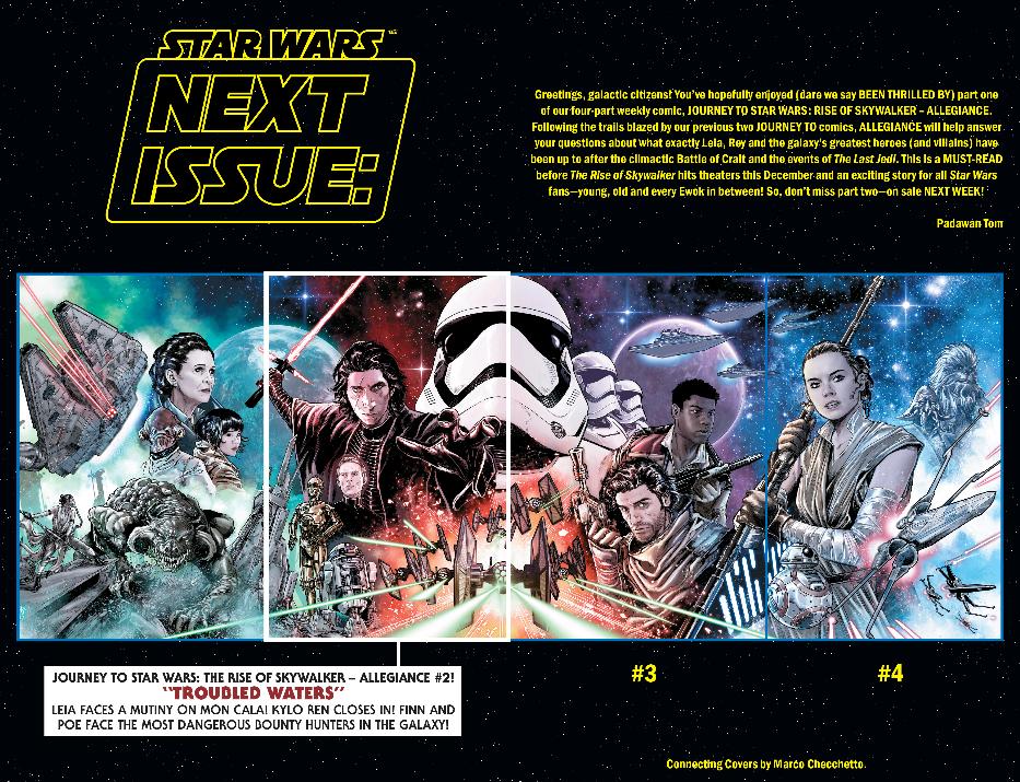 Review The Resistance Is Desperate In Marvel S Star Wars Allegiance 1 Star Wars News Net