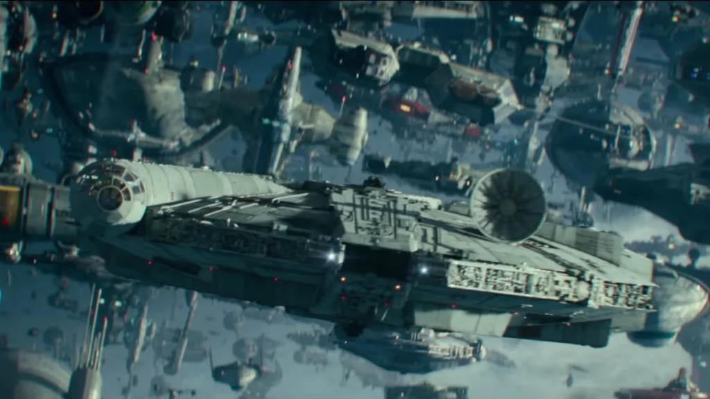 Star Wars The Rise Of Skywalker Fleet