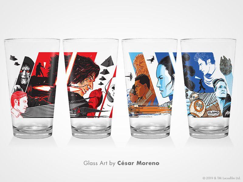 Star Wars: Rise of the Skywalker - Glass Art