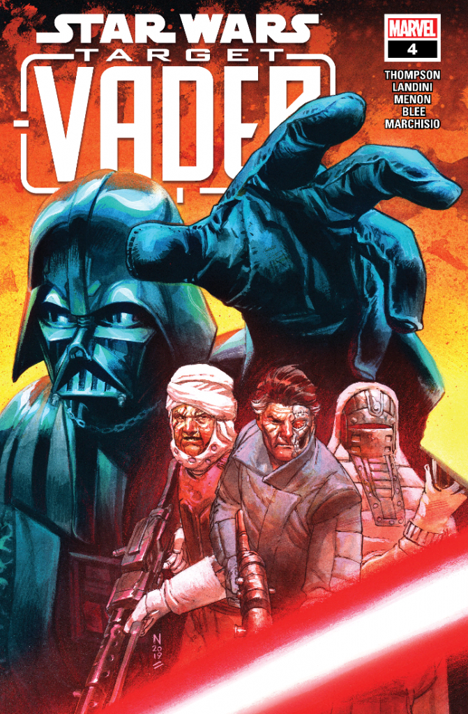 Review: The Hunter Becomes the Hunted in Marvel's Star Wars: Target Vader #4