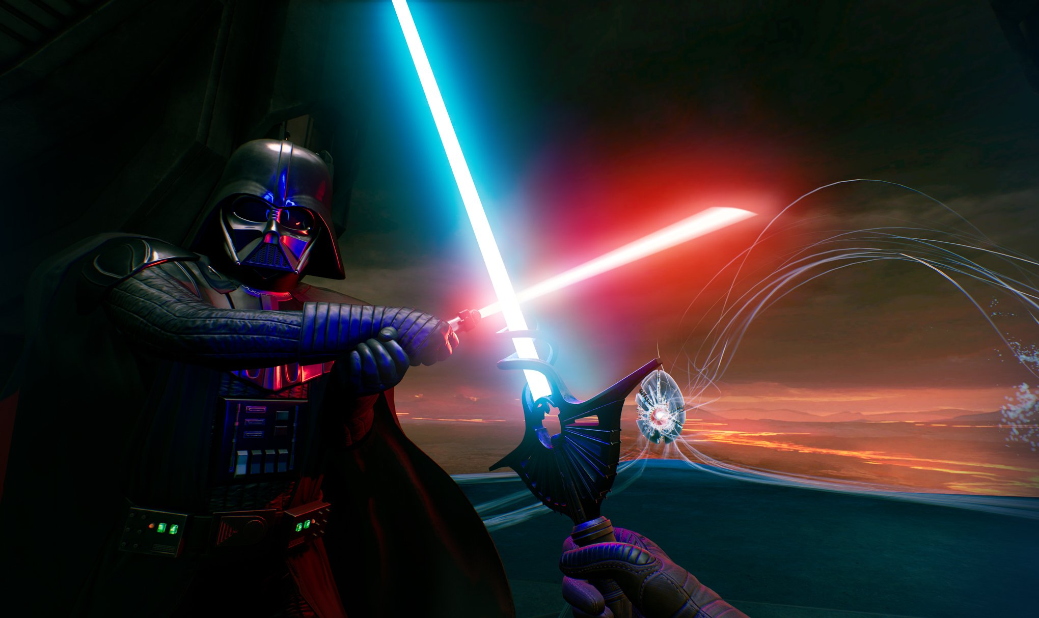 Fighting Darth Vader in Vader Immortal