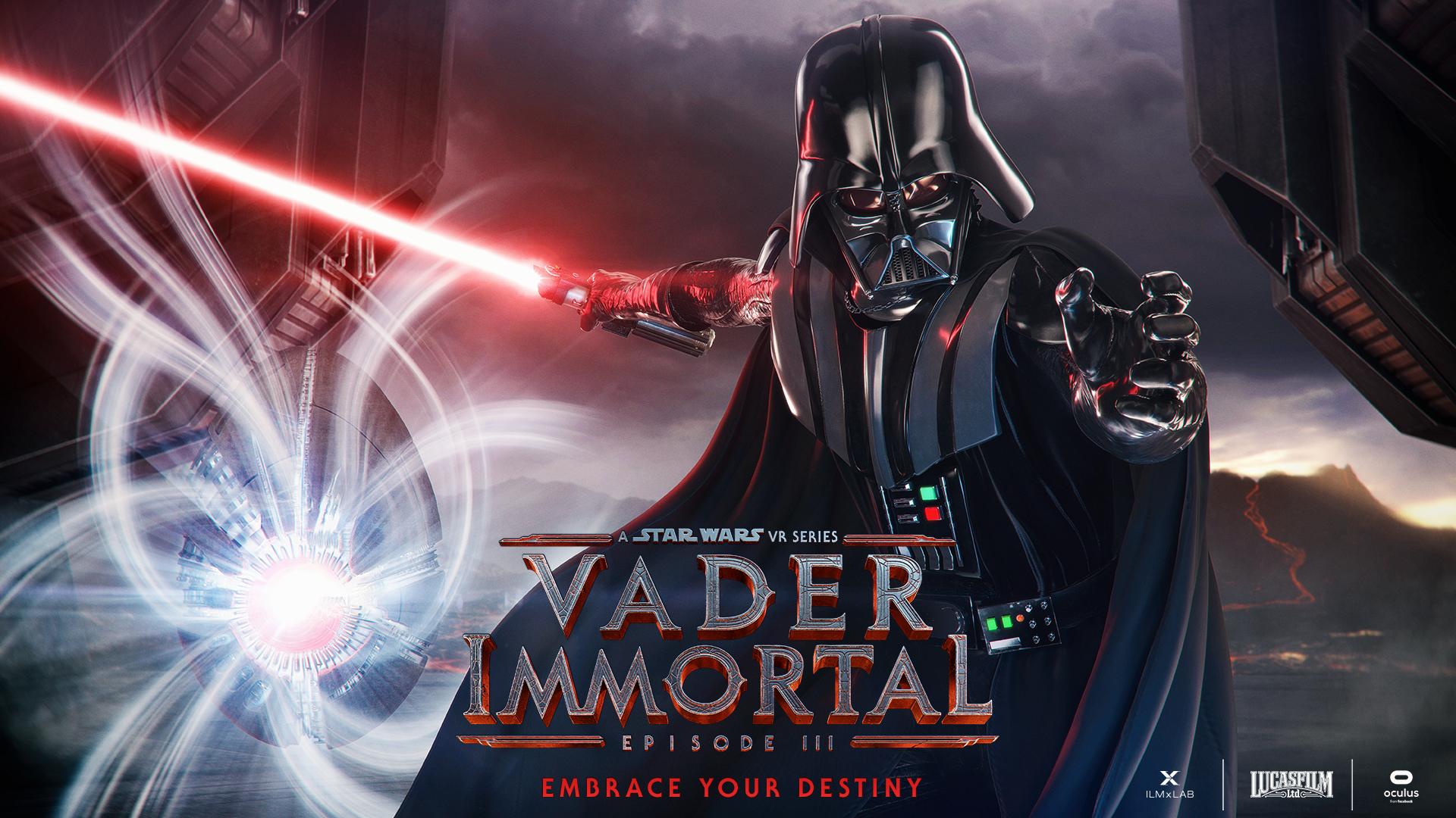 Vader Immortal episode 3 poster