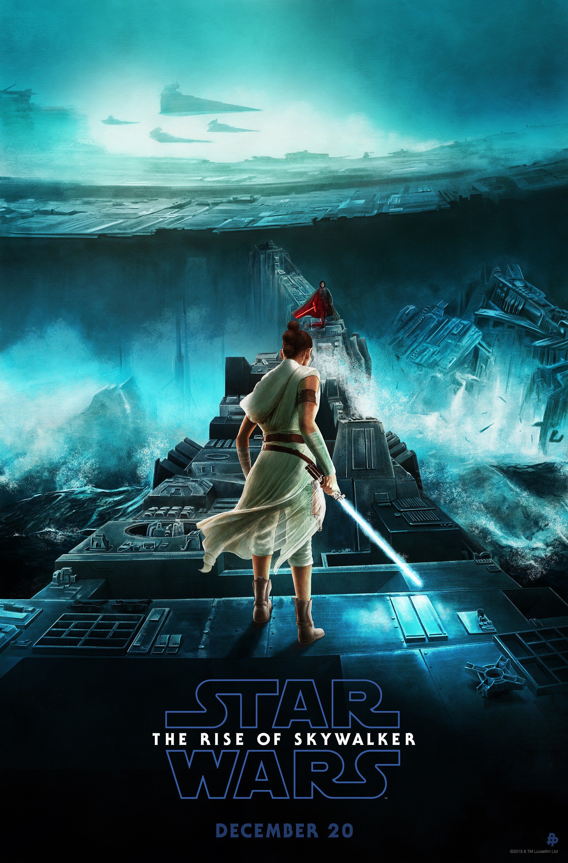 Star Wars The Rise Of Skywalker New Poster And Tv Spot With More Shots And Dialogue Star Wars News Net