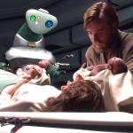 Obi-Wan Kenobi Luke And Leia Skywalker