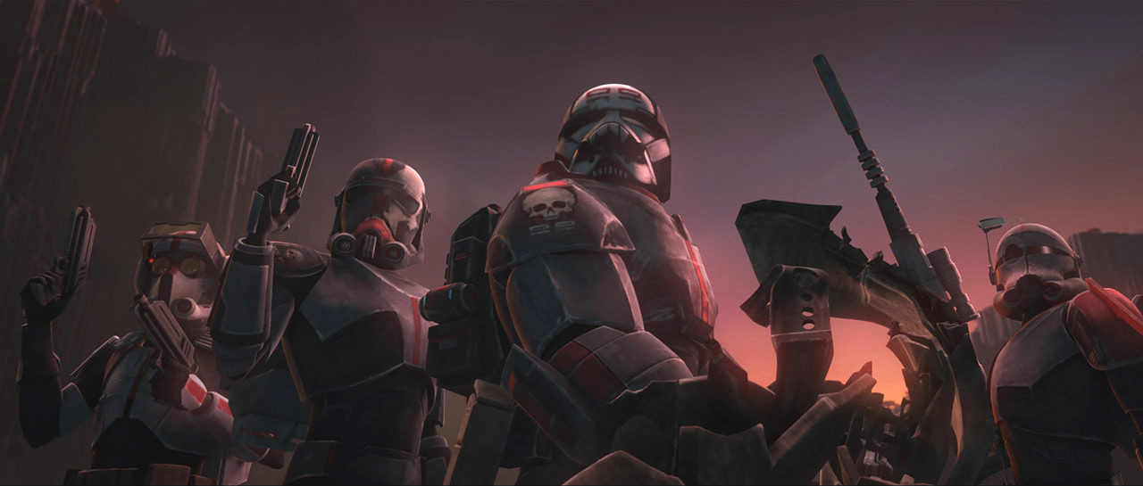New 'The Clone Wars' Trailer Showcases the Bad Batch