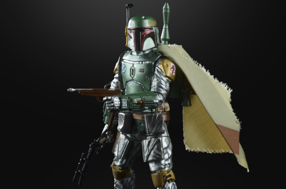First Look at Hasbro's Star Wars: The Black Series Carbonized Collection 6-Inch Boba Fett Figure