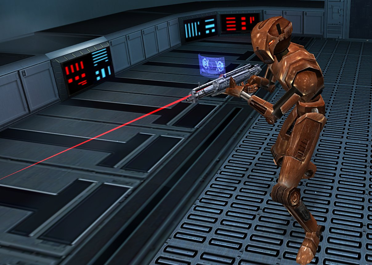HK-47 in Knights of the Old Republic