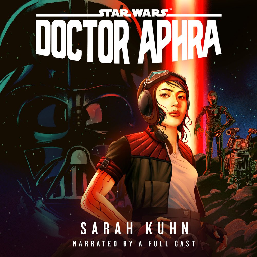 Doctor Aphra audiobook cover art