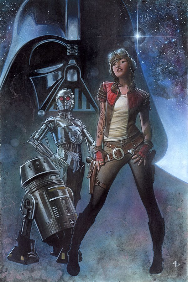 Doctor Aphra in Darth Vader issue 3