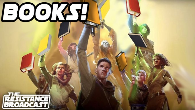 The Resistance Broadcast – Star Wars Leaning Heavily on Books as Future is Decided