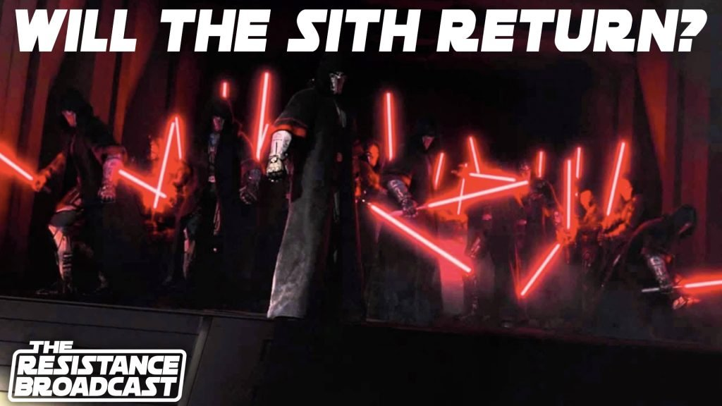 The Resistance Broadcast – Will the Sith Return After Episode IX?
