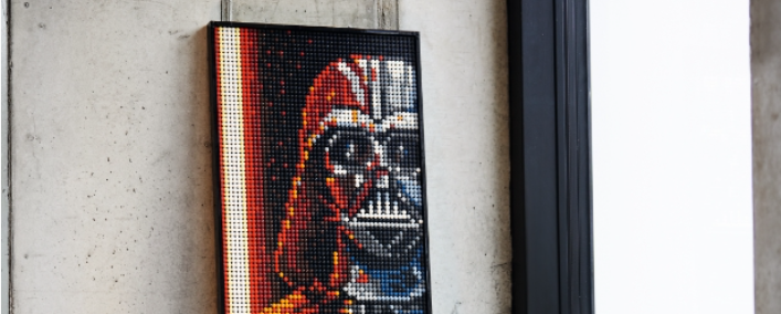 LEGO Launches New Star Wars Pop-Art