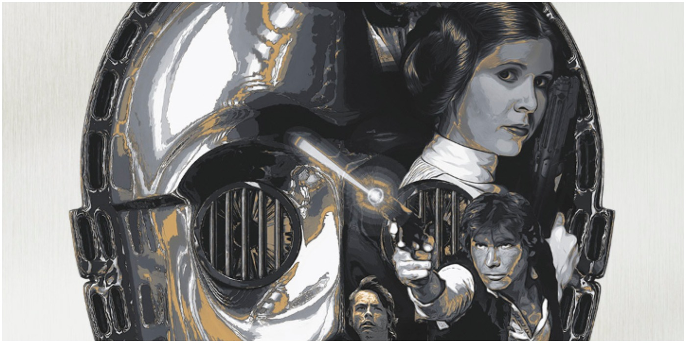 The Original Star Wars Trilogy Strikes Back In New Acme Archives Posters