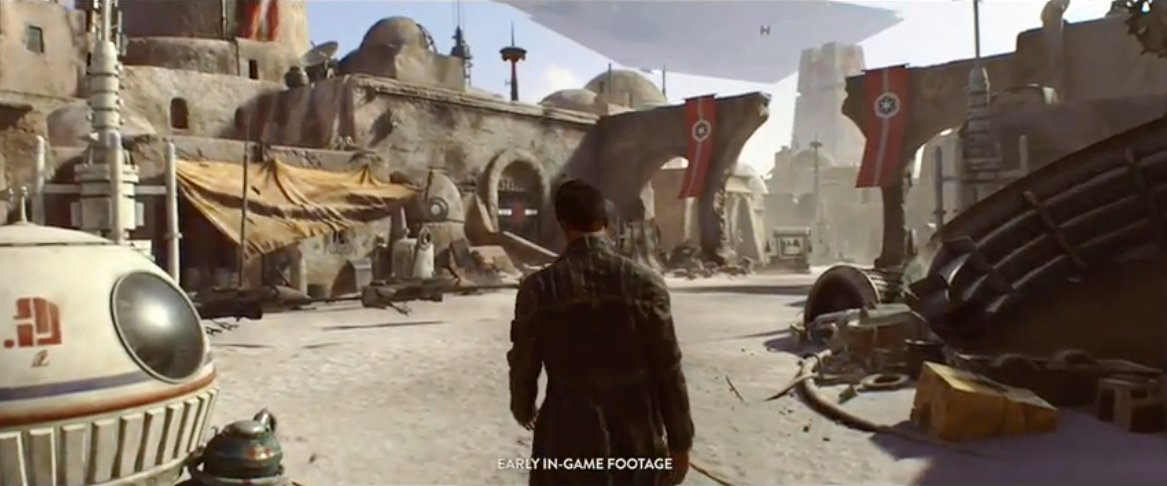 Visceral's Star Wars game from E3 2016