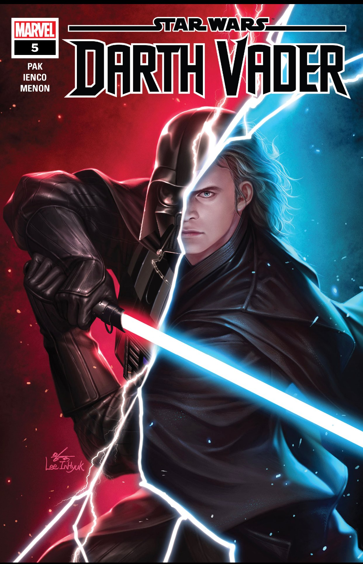 Review: Vader Finds Padmé's Resting Place in Marvel's Darth Vader #5