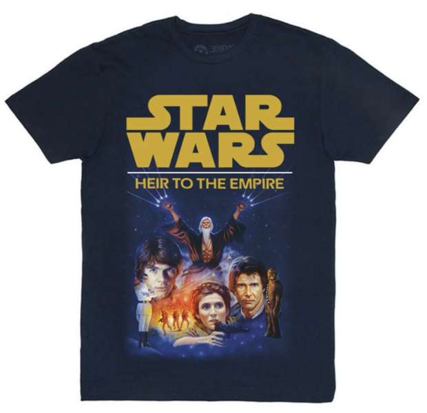 Heir to the Empire t-shirt front