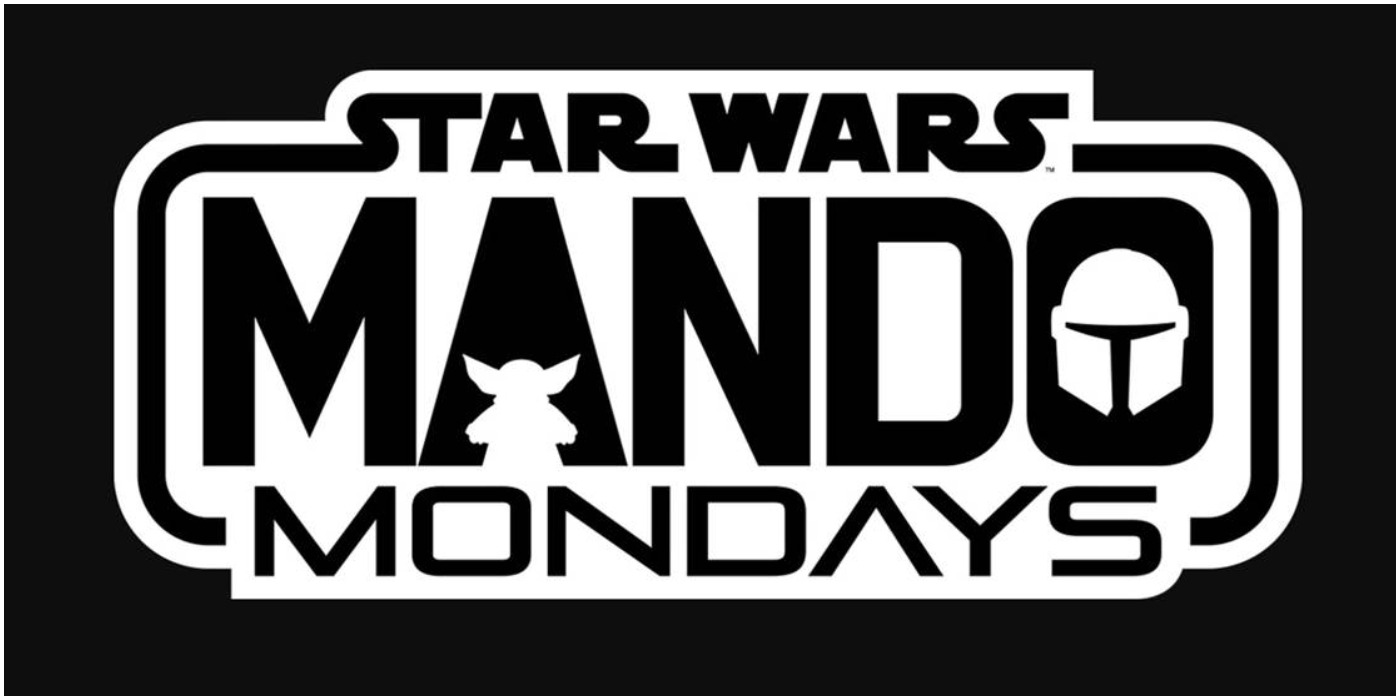Star Wars Mando Mondays Logo