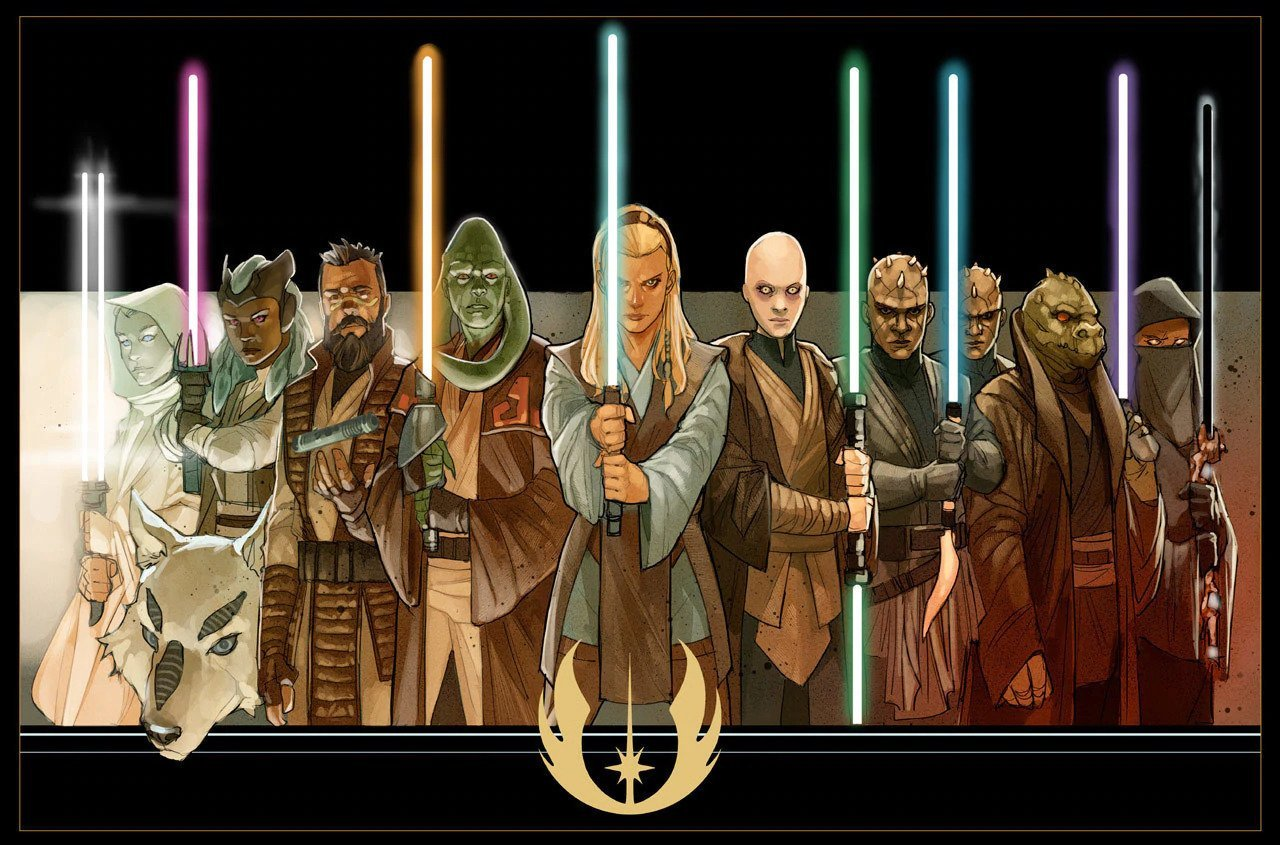 High Republic Jedi Masters