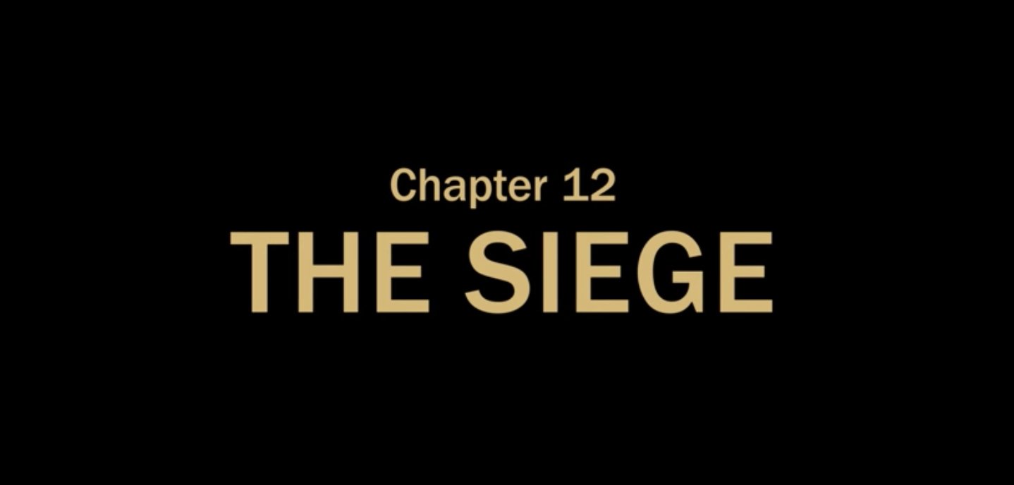 The Mandalorian title card - Chapter 12 The Siege