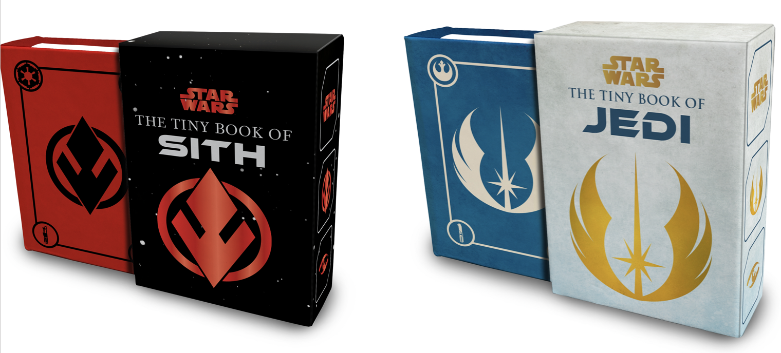 EXCLUSIVE: Take a Look Inside Tiny Book of Jedi and Tiny Book of Sith From Insight Editions