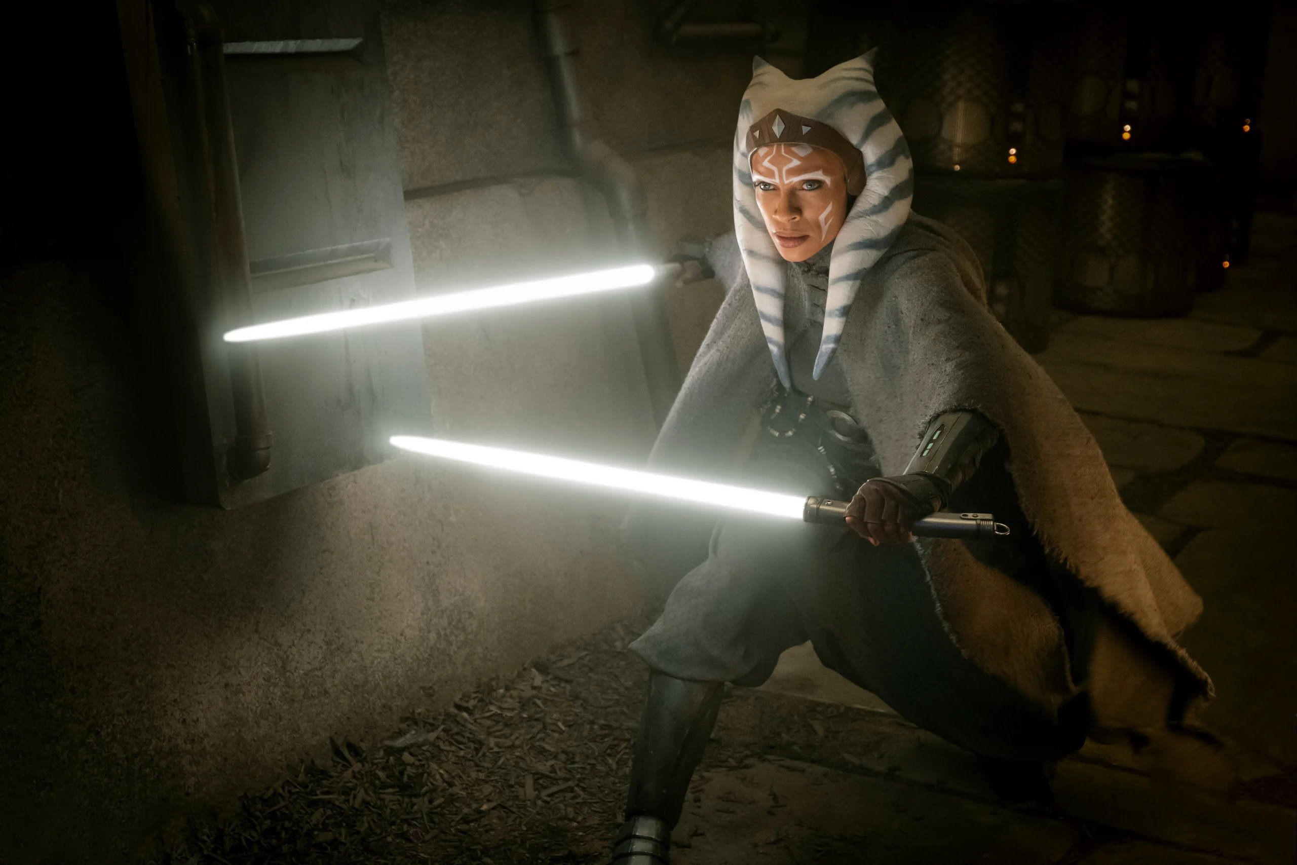 Rosario Dawson as Ahsoka Tano in The Mandalorian
