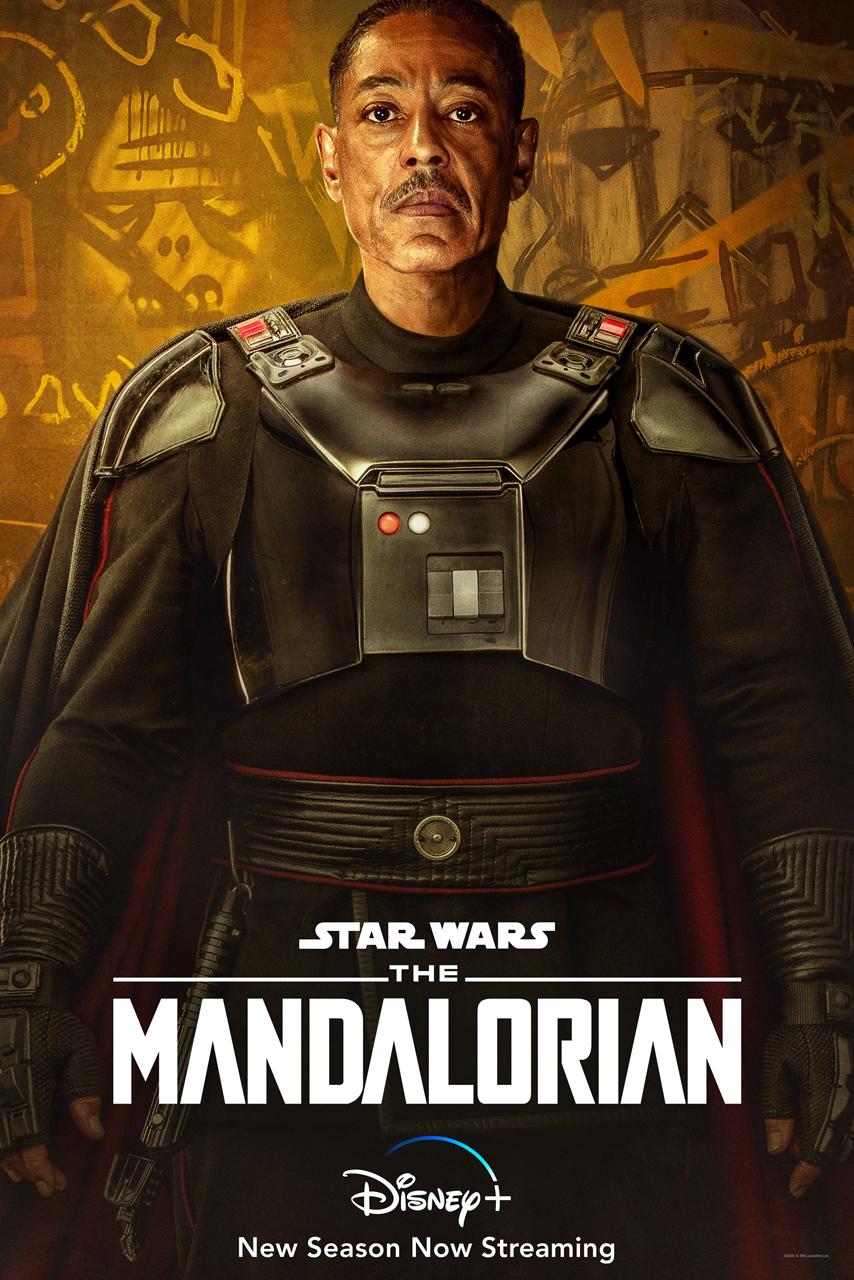 Moff Gideon Character Poster The Mandalorian