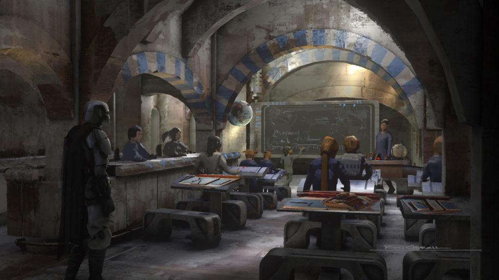 The Mandalorian concept art by Ryan Church.