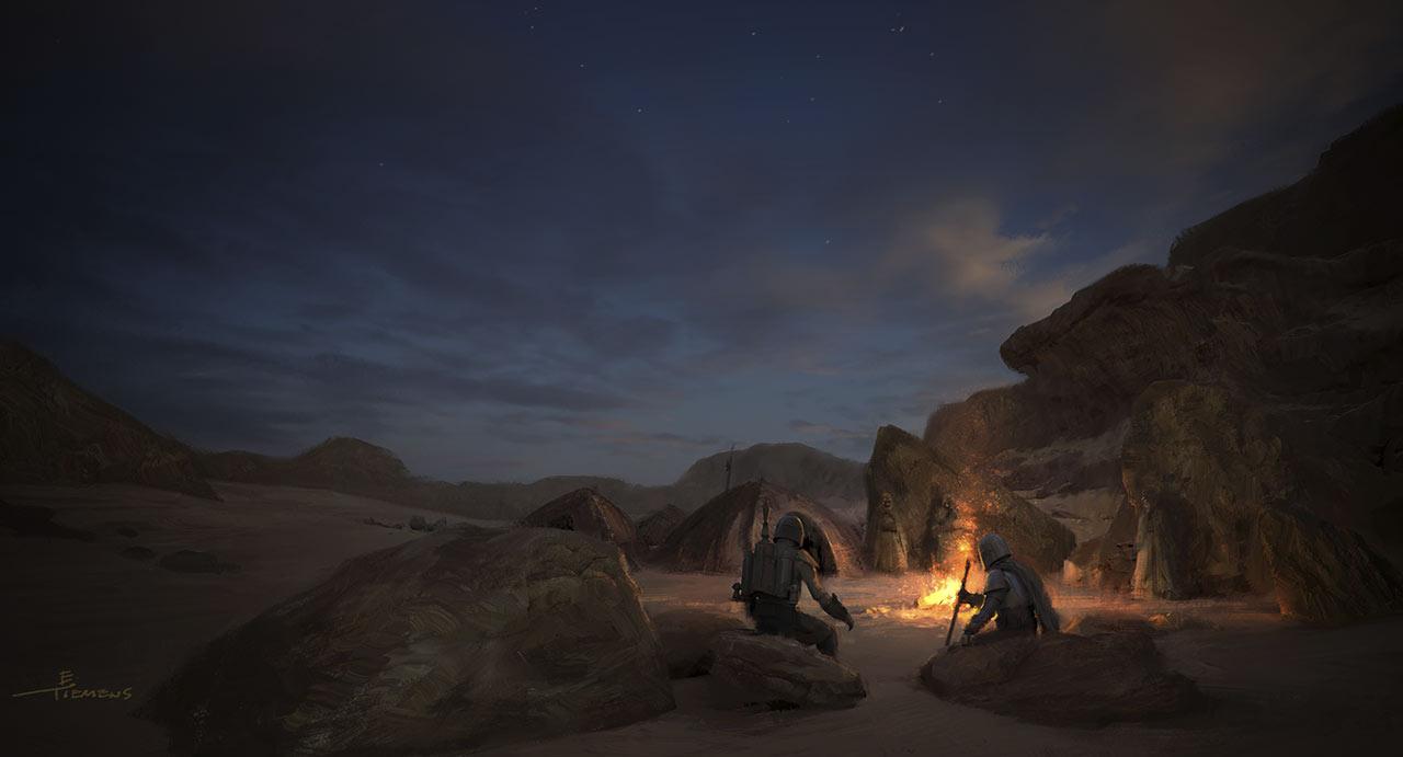 Fireplace Concept ARt (Erik Tiemens)