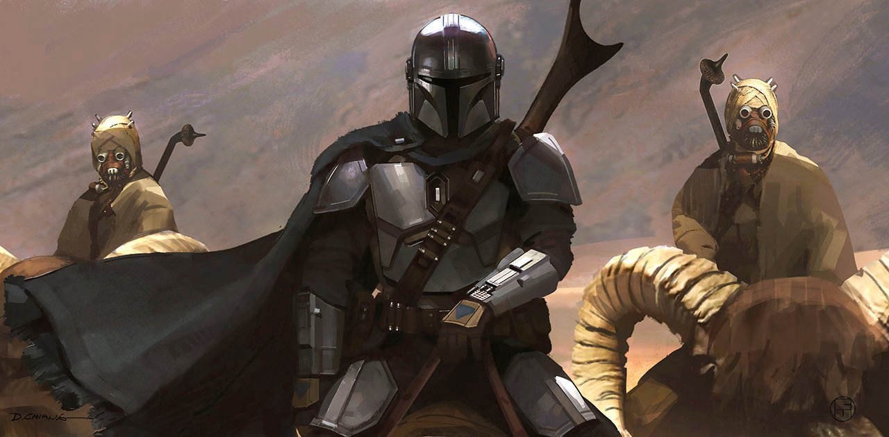 The Mandalorian New Concept Art And Character Poster From Chapter 9 The Marshall Star Wars News Net