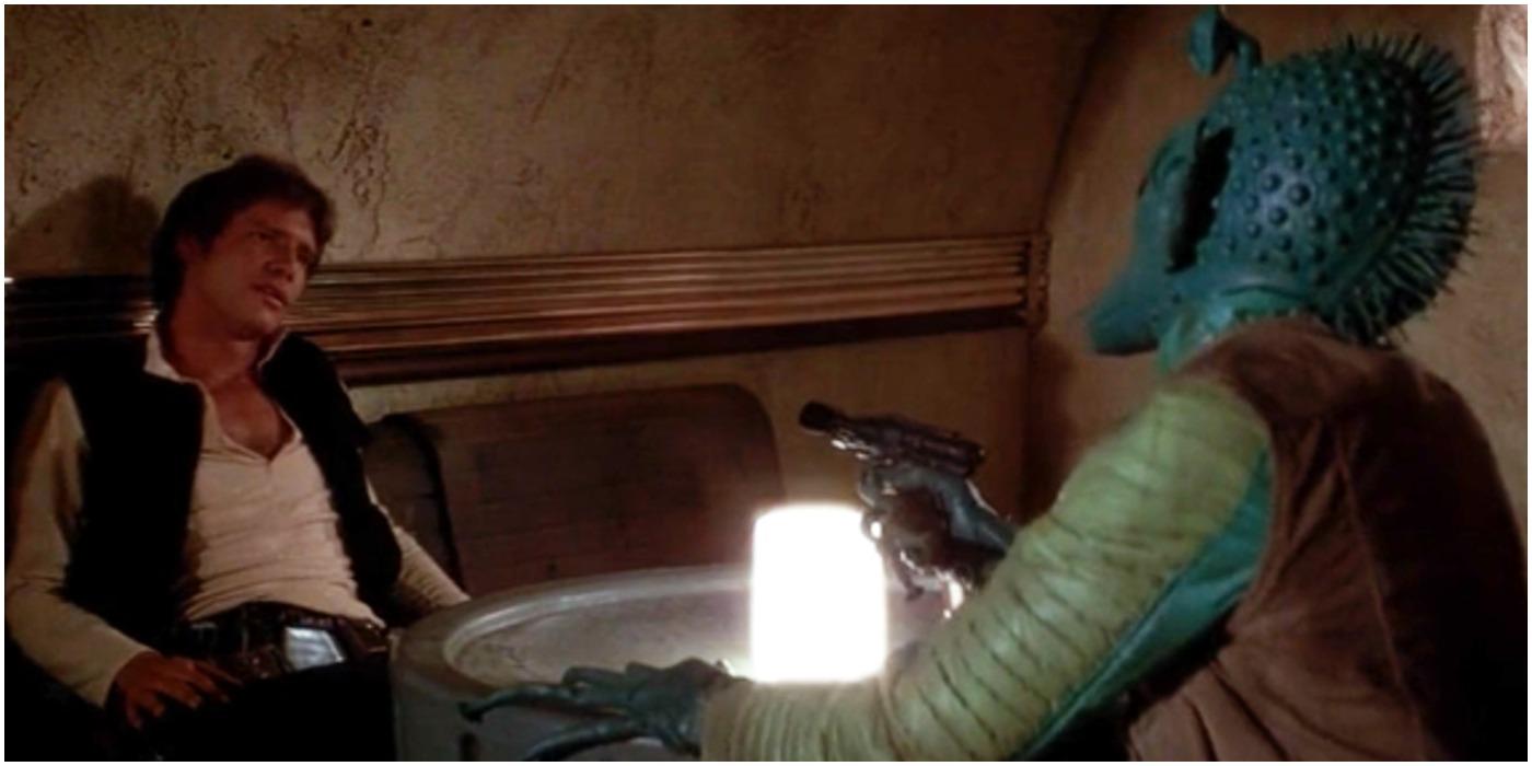 Han Solo Greedo Cantina Star Wars