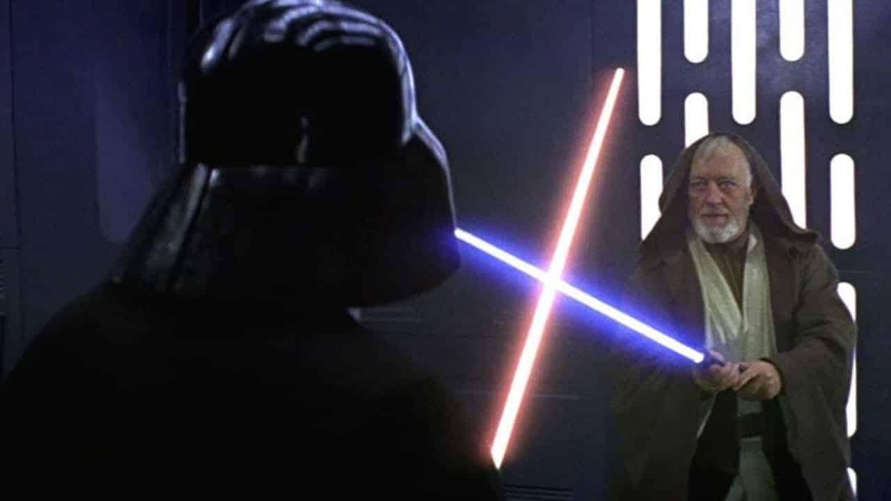 Obi-Wan vs. Darth Vader Death Star