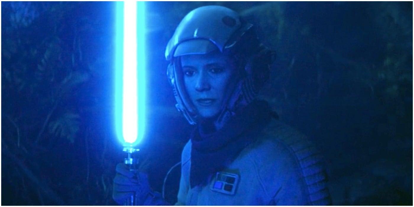 Princess Leia Jedi Training