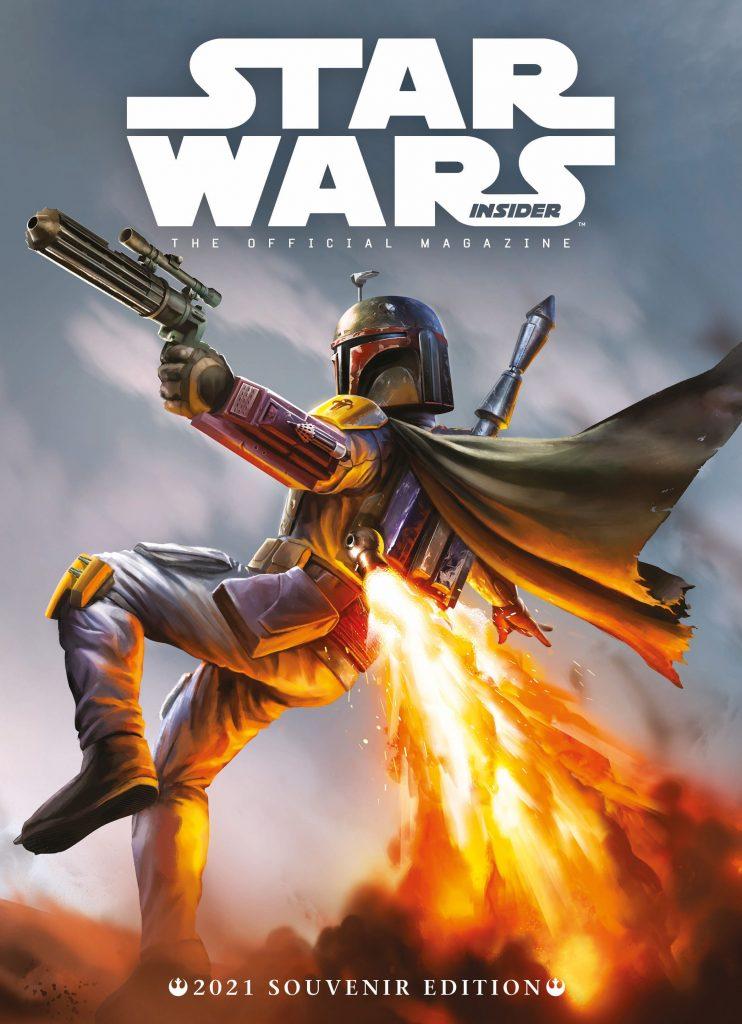 Star Wars Insider Cover Boba Fett