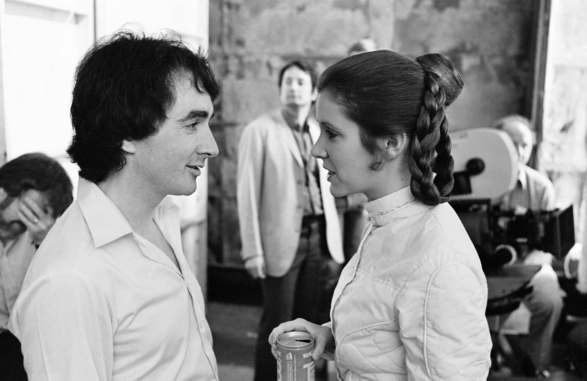 Carrie Fisher anthony Daniels
