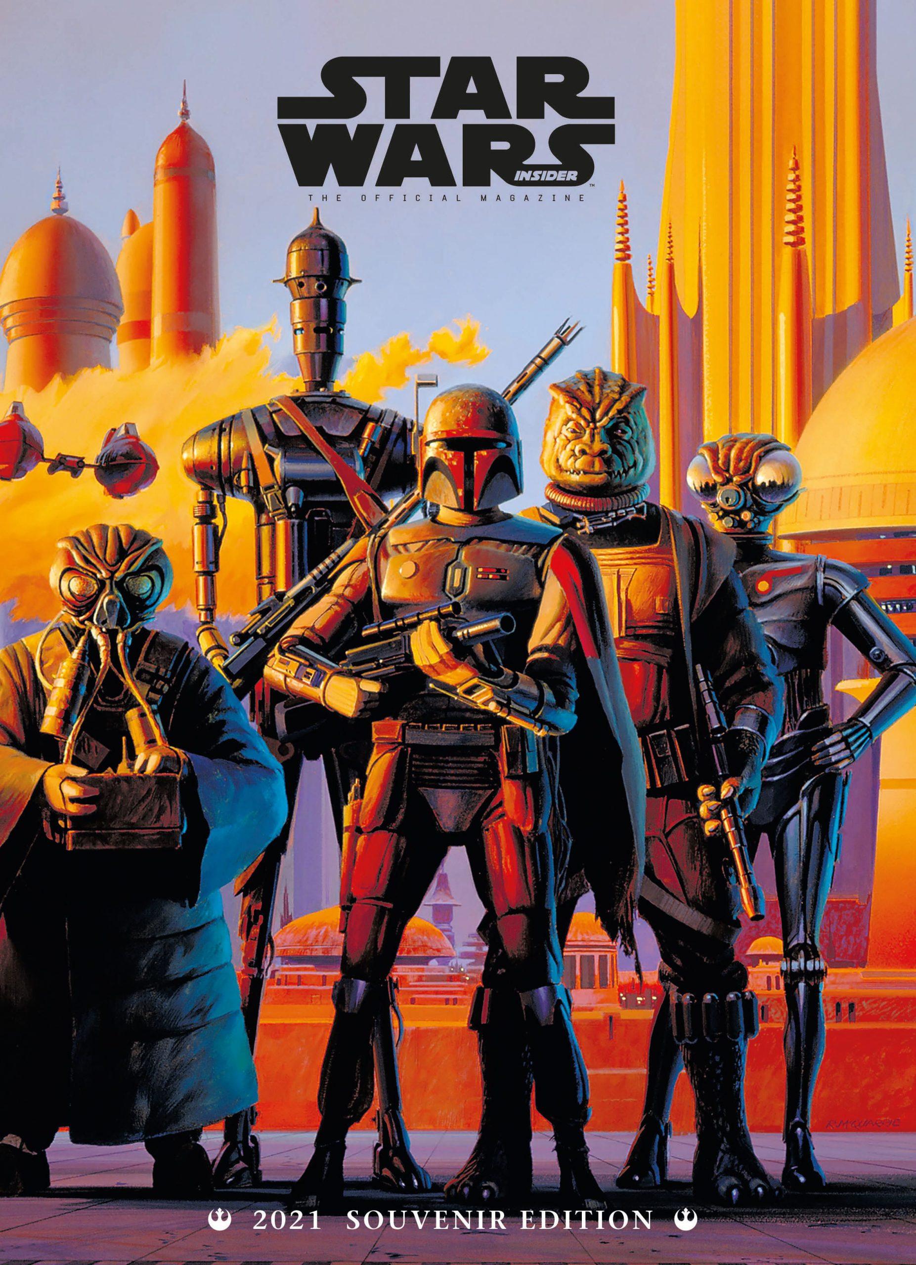 Star Wars Insider Subscriber Cover Bounty Hunters