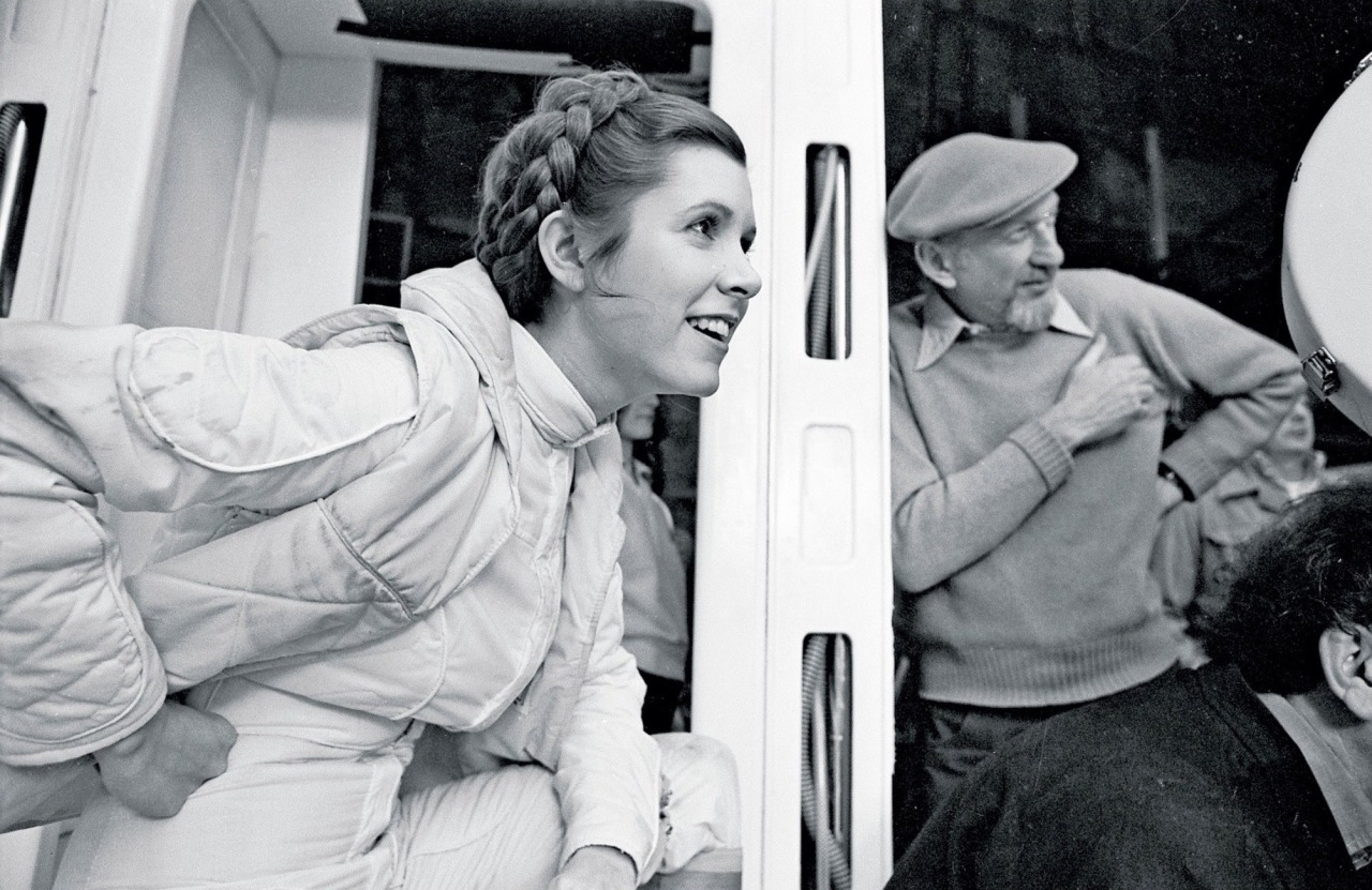Carrie Fisher Irving Kershner
