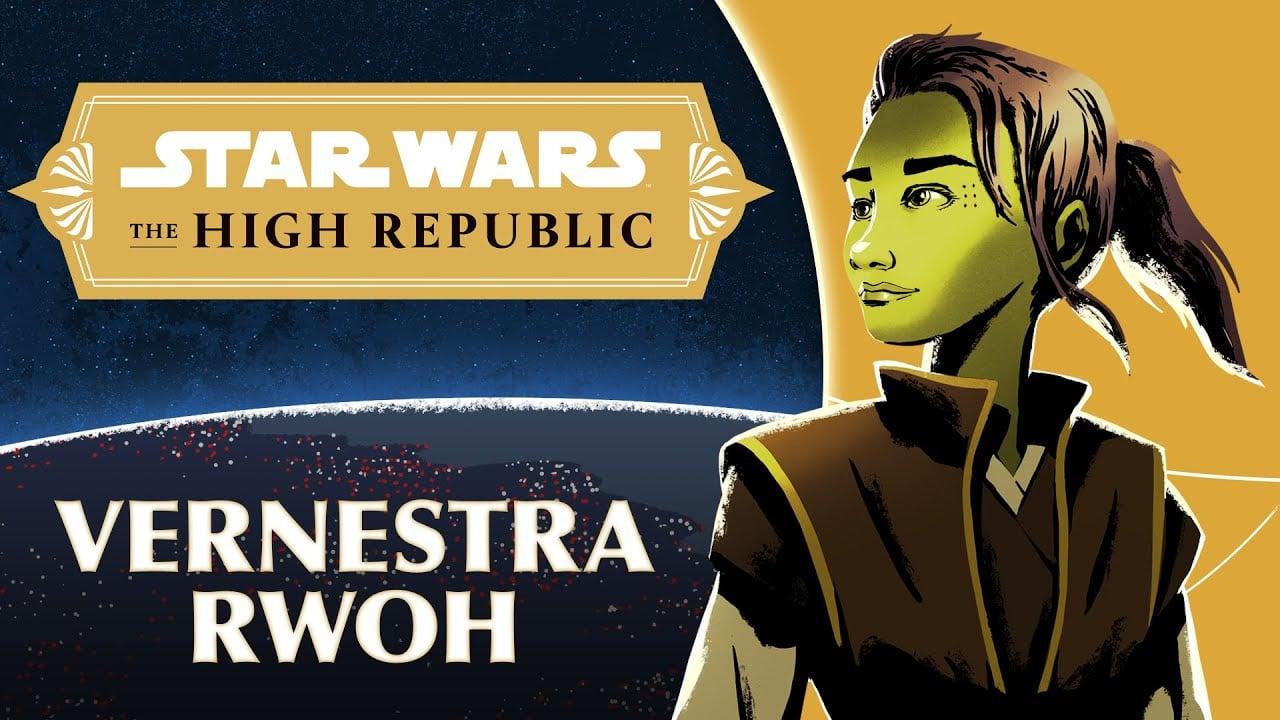 Star Wars High Republic Jedi Knight Vernestra Rwoh