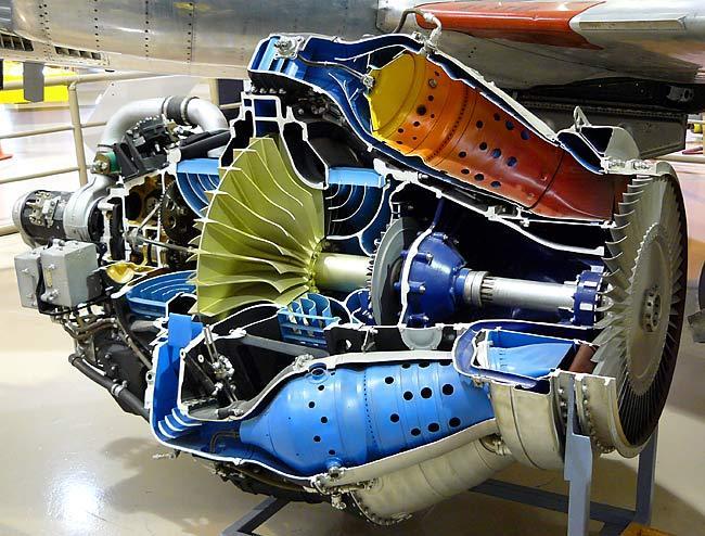 Rolls Royce jet engine. IG-88 head prop.
