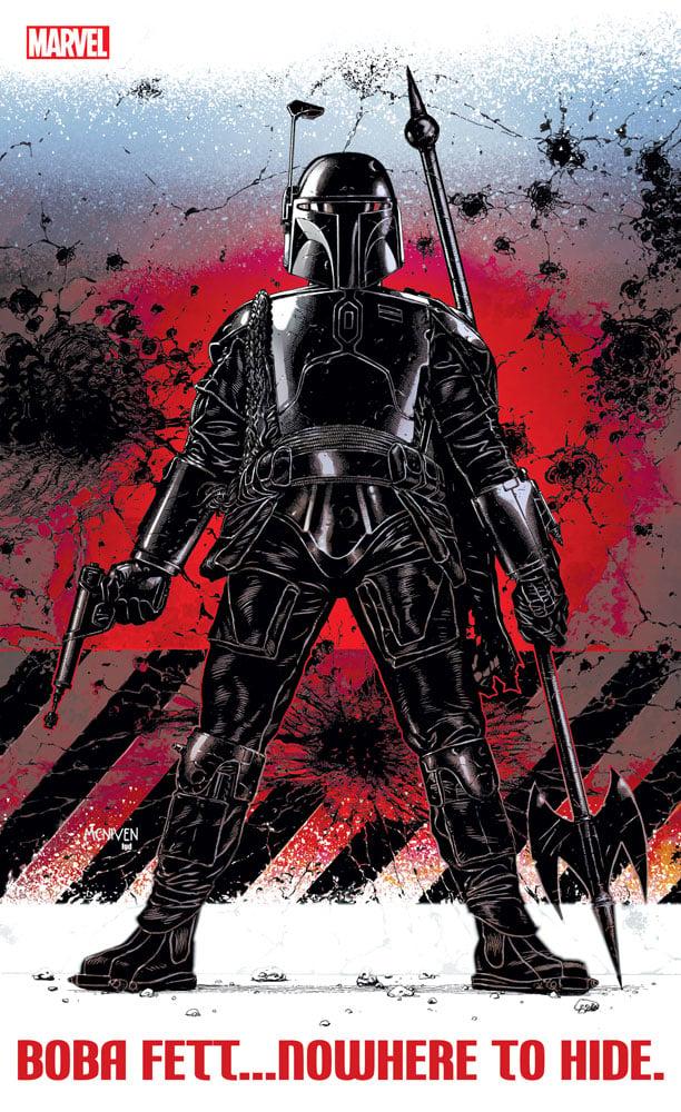 Boba Fett comic cover art