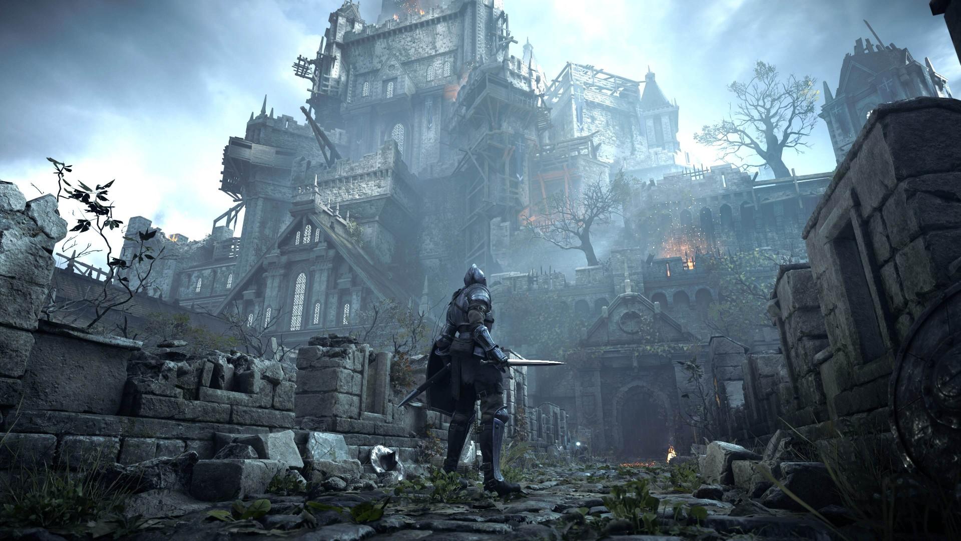 Demons Souls remake gameplay