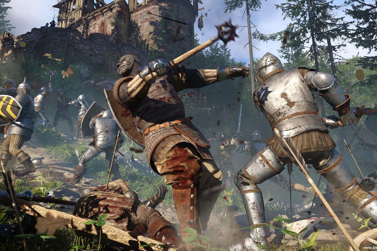 Kingdom Come: Deliverance in-engine screenshot