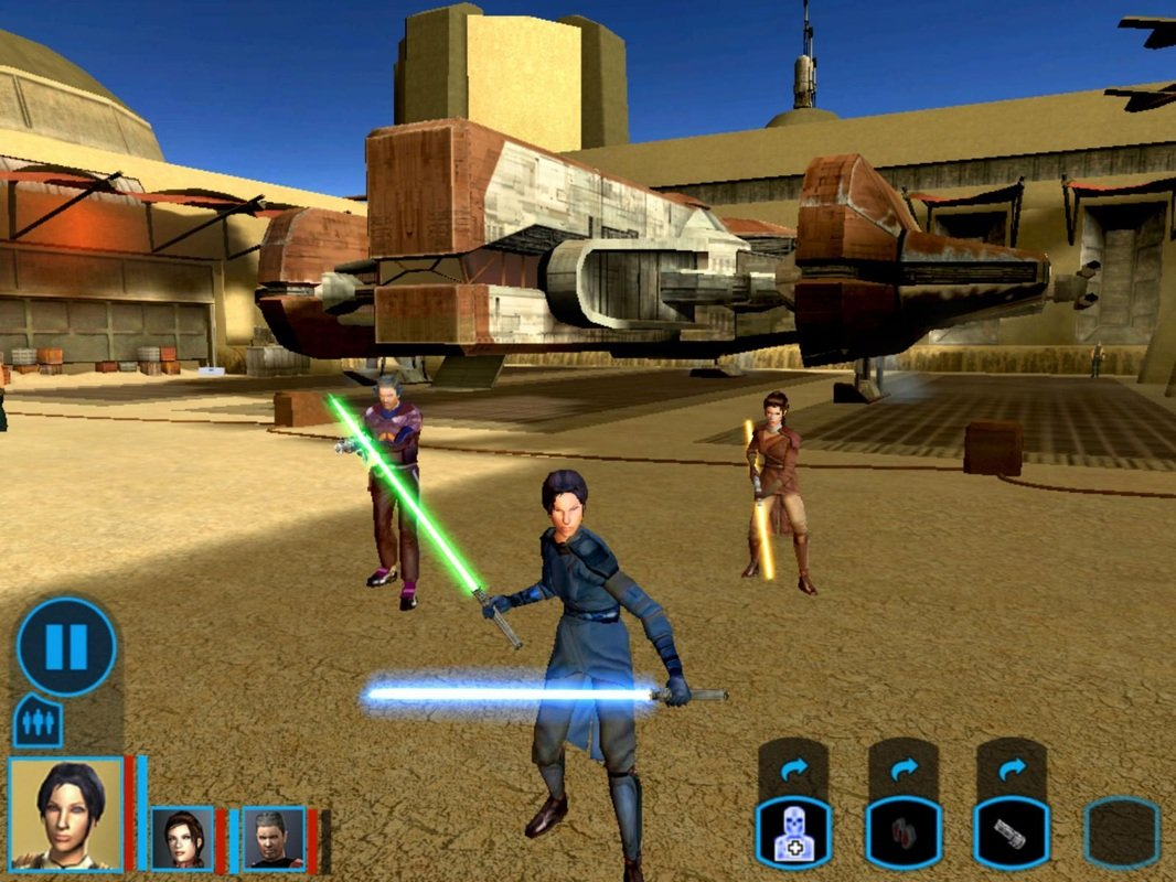 Knights of the Old Republic on iOS