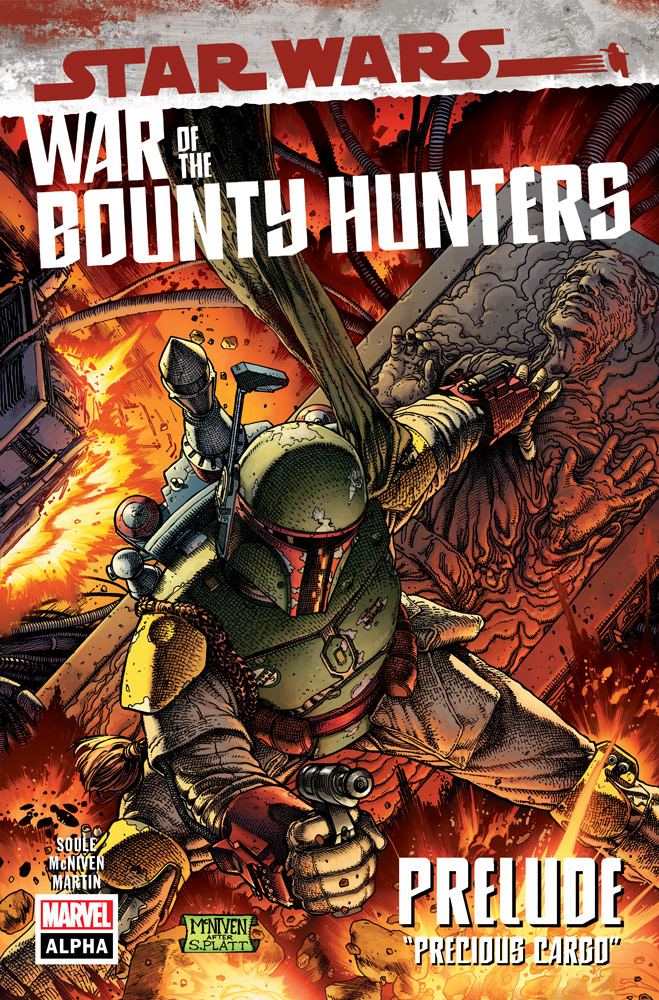 Star Wars War of The Bounty Hunters #1