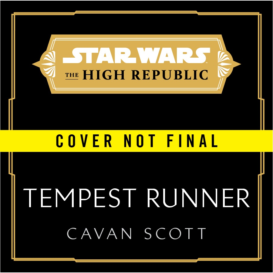 Star Wars High Republic Tempest Running Cover
