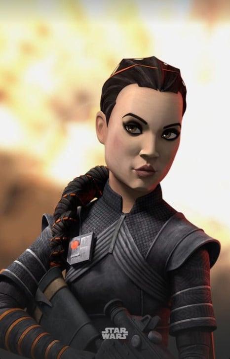 Fennec Shand in Star Wars: The Bad Batch