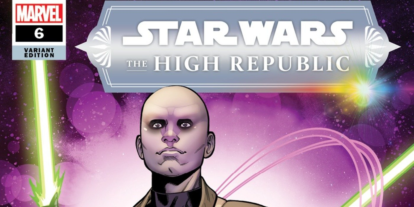 Star Wars The High Republic Variant Cover Issue 6